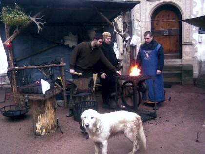 Mittelalterlicher Weihnachtsmarkt auf Schloss Wilhelmsburg