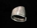 Gabelschmuck, Ring, 800er Silber