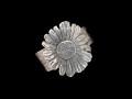 Blütenring, 925er Silber